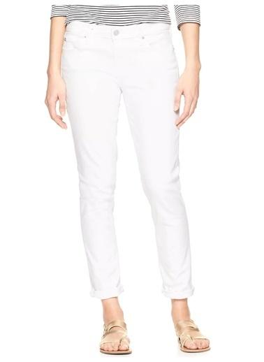 Gap Jean Pantolon | Girlfriend Beyaz
